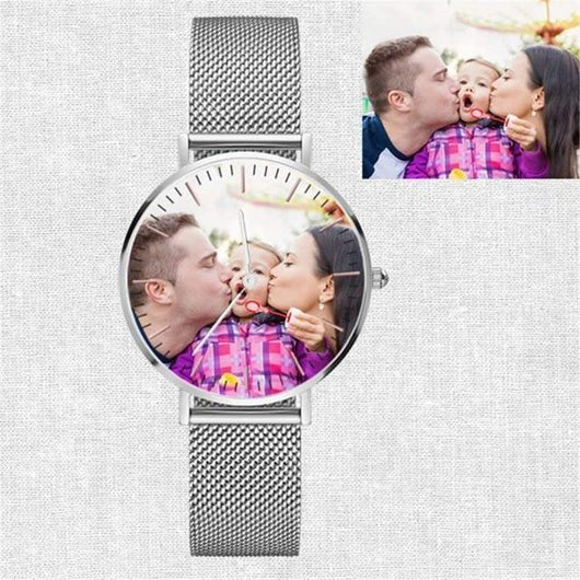Couple Photo Watch customizez Wristwatches for couple Photo watch BANFIY USA colorful