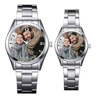 Custom logo Watch photo print Watches For lovers Photo watch BANFIY USA