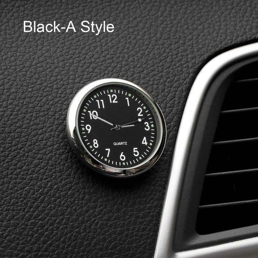 Electronic Meter Sticker Watch Car Accessories Car Accessories BANFIY USA Black A -style
