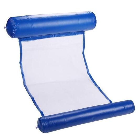 Foldable Air Mattress For Swimming Pool Beach air matress BANFIY USA Dark Blue