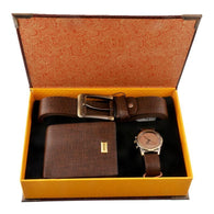 Gift Box Set for Men Fashion Watch Belt And Wallet gift box set Banfiyusa