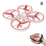 Induction Drone Toys Quadcopter Drone BANFIY USA red