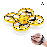 Induction Drone Toys Quadcopter Drone BANFIY USA yellow