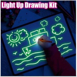 LED Drawing Board Educational Toy baby Product BANFIY USA