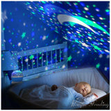 LED Rotating Night Light Projector For Kids Room LED Night light BANFIY USA