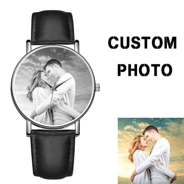 Lovers Photo Watch valentines Day Special Photo Printing Watch With Logo Photo watch BANFIY USA