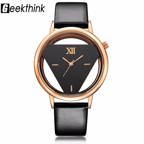 Luxury Quartz Women Watch Ladies Casual Leather strap women watch BANFIY USA