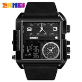 Men Wrist Watch Luxury Brand Military shape Men Watch Banfiyusa full Black Watch