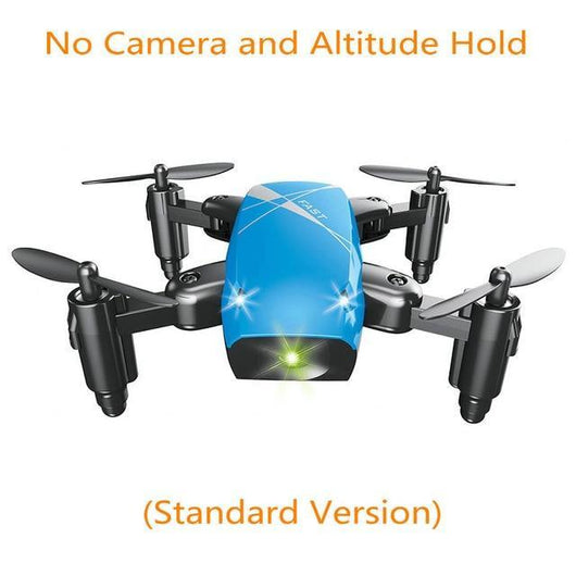 Mini Drone With HDCamera Foldable Pocket Drone Drone BANFIY USA blue no camera