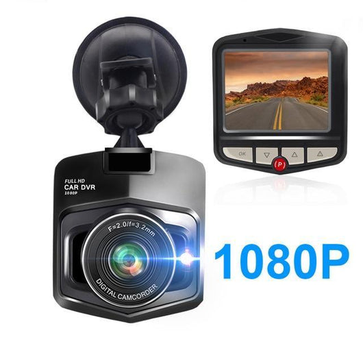 Mini Full HD 1080P Dashcam For Car Car Accessories BANFIY USA 1080 Black 16G