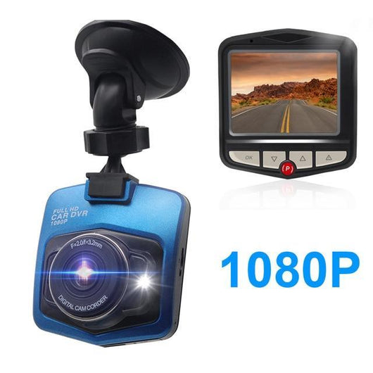 Mini Full HD 1080P Dashcam For Car Car Accessories BANFIY USA 1080 Blue 16G