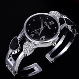 Original and elite look ladies watch Fashion Full Steel Bracelet Waterproof Watch for Women women watch BANFIY USA
