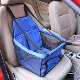 Pet Car Seat Bag Carriers Waterproof Folding Pet Animal Accessories BANFIY USA Blue 40x30x25cm China
