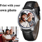 Photo print Mens leather Watches Photo watch BANFIY USA