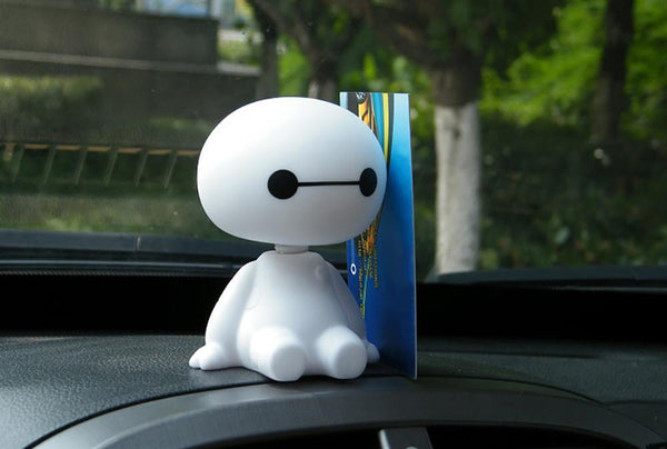 Plastic Baymax Robot for Car Interior Decorations Car Accessories BANFIY USA