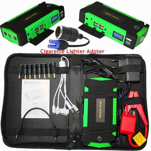 Portable Car Battery Booster Car Accessories BANFIY USA Green China