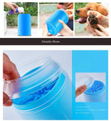 Portable Dog Paw Cleaner With Foot Cleaning Brush Pet Animal Accessories BANFIY USA