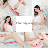 Pregnant Women Bedding Waist Pillow pillow BANFIY USA