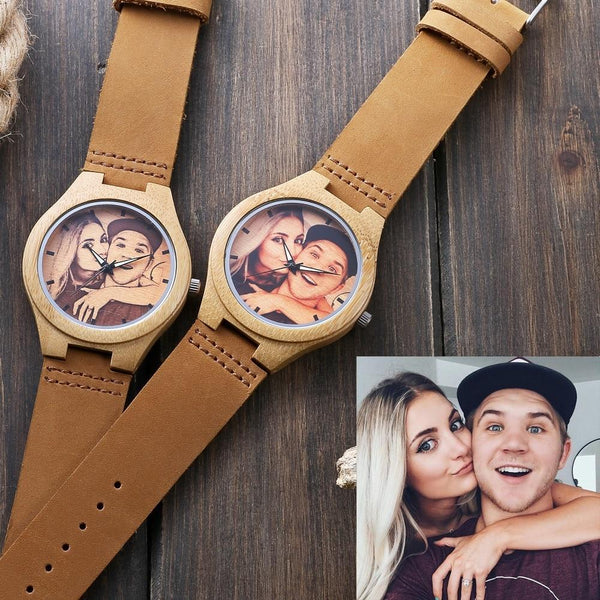 Printing Sketch Photo Men Women Watches Photo watch BANFIY USA