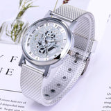 Skeleton Style Quartz Wristwatch for Men Women watch BANFIY USA