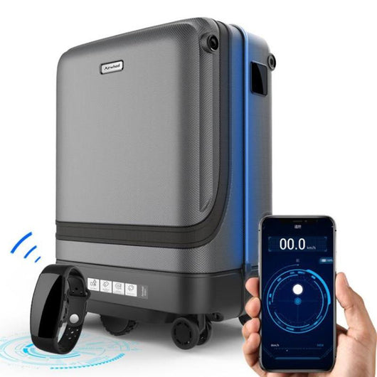 Smart suitcase follow Luggage Travel Accessories BANFIY USA