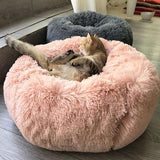Soft Plush Portable Pet Bed Pet Animal Accessories BANFIY USA pink 40cm