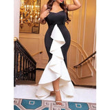 Women Party Sexy Bodycon Dress Ladies Dress BANFIY USA Black M