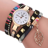 Women Quartz Lady Bracelet Wristwatch women watch BANFIY USA Black