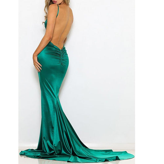 Women Sexy Backless Dress Bandage Dress BANFIY USA