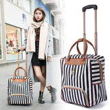 Women Trolley Luggage Fashion Suitcase Travel Accessories BANFIY USA Women Luggage 3