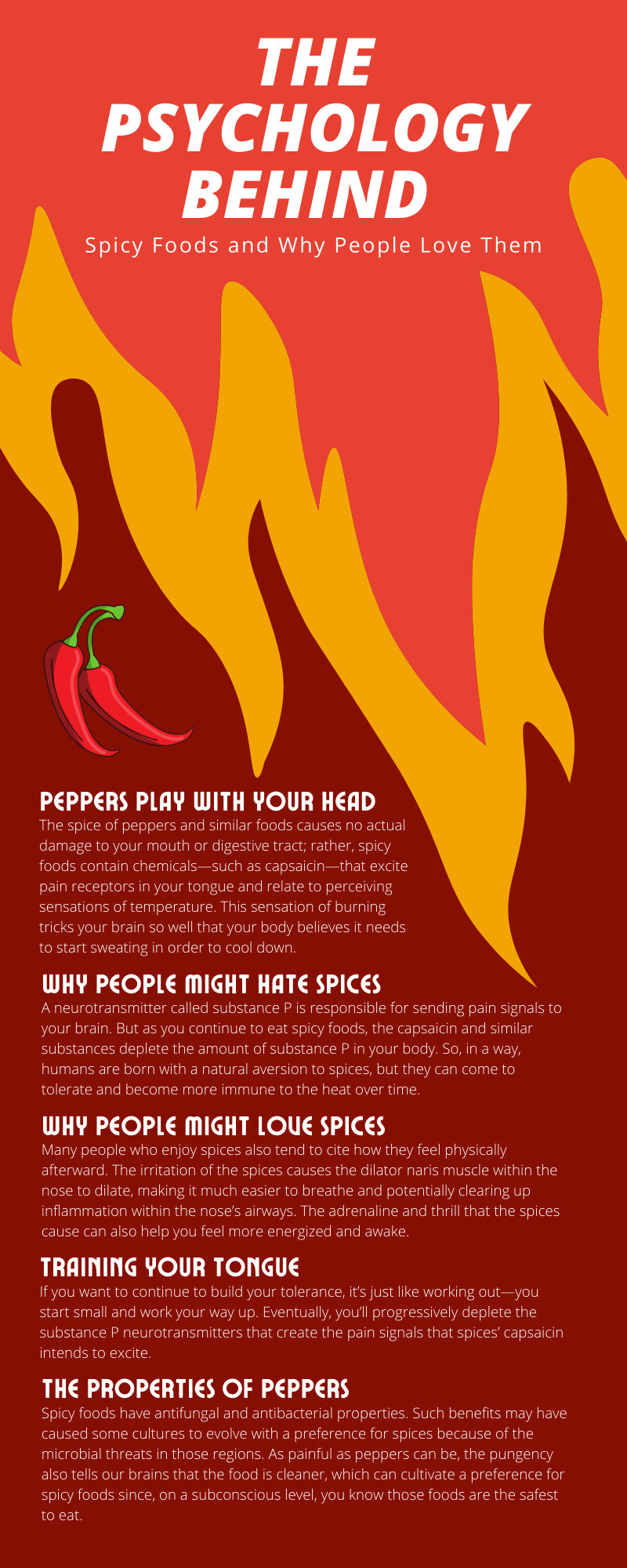 The Psychology Behind Spicy Foods and Why People Love Them