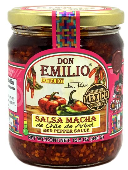 Don Emilio Red Pepper Salsa Macha  – EXTRA HOT