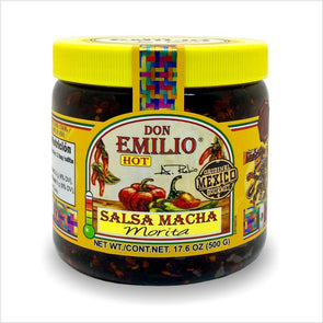 Don Emilio Salsa Macha Morita Pepper 500g - HOT