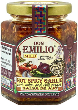 Don Emilio Spicy Garlic Sauce with Onion and Chili Pepper– MILD
