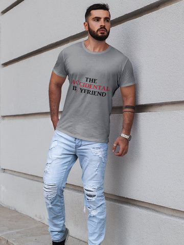 Men Solid White T-shirt