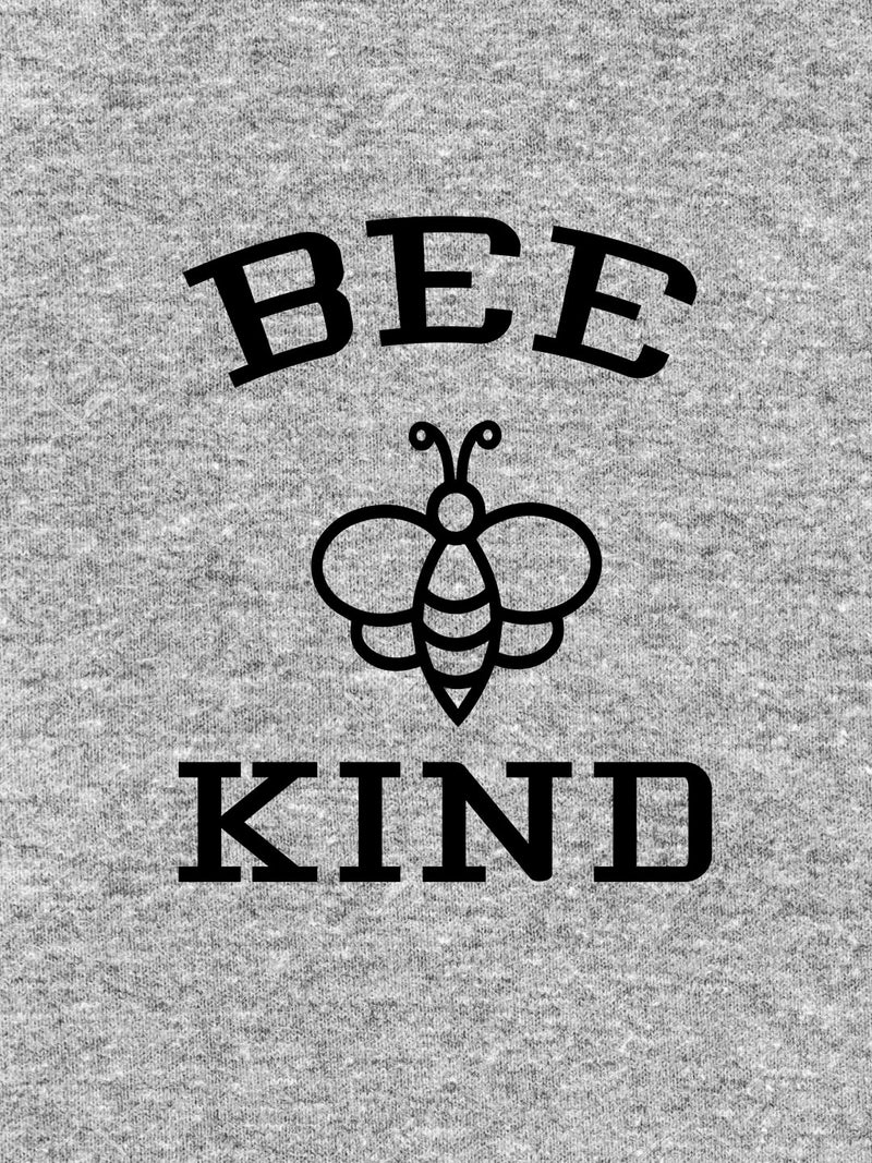 Bee Kind Printed Ash Color T-shirt