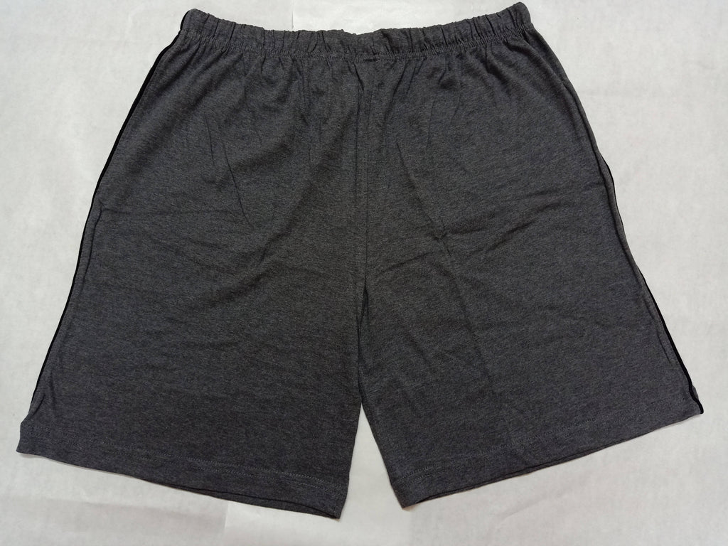 Chromozome Mens Solid Cotton Shorts