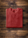 Men Solid Red T-shirt