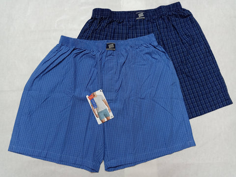 US Polo Association Men's Cotton Printed Navy Blue Boxer Shorts