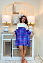 Load image into Gallery viewer, Such A Lady Plaid Dress