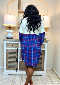 Such A Lady Plaid Dress