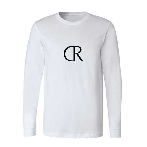 KINGS ARKLOW Unisex Long Sleeve Tee White
