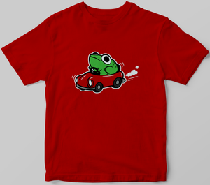 Frog in a Car Shirt (Preorder)