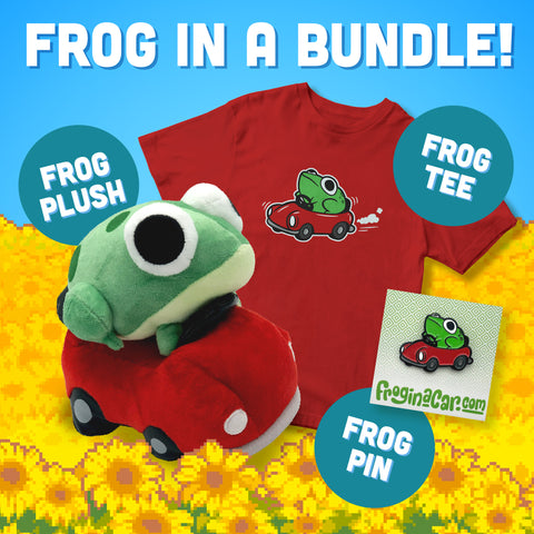 Frog in a Car Bundle (Preorder)