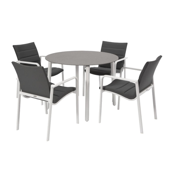 Mambo & Cassis Dining Setting - White
