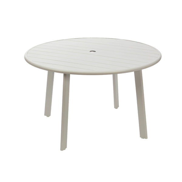 Avignon Outdoor Dining Table, powder coated aluminium