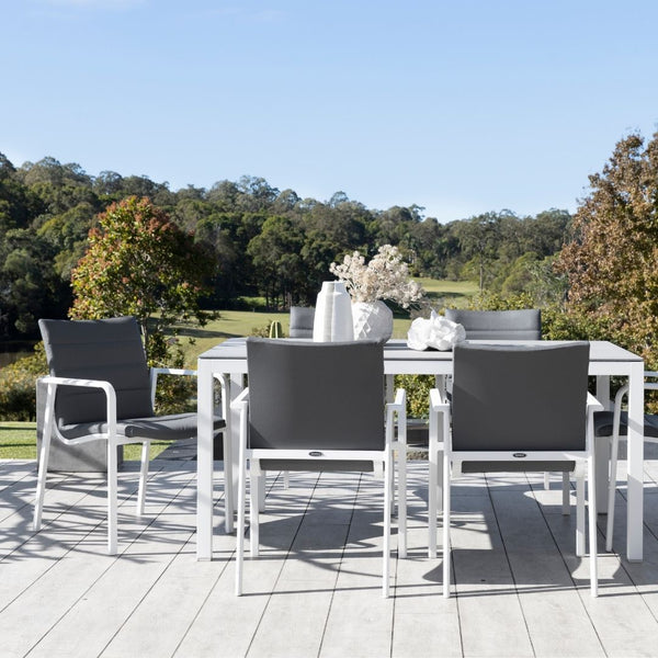 Frejus & Danza Dining Setting - Charcoal
