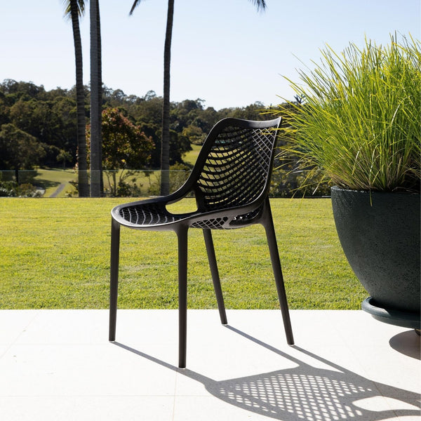 Outdoor Air Chair Black