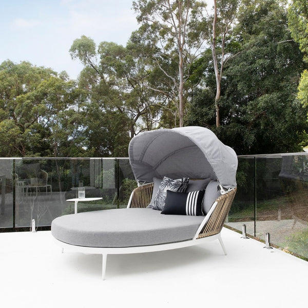 Artemis Daybed - White/Natural