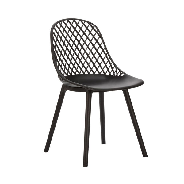 Apollo Outdoor Armless Resin Chair